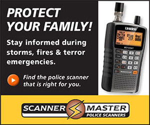 Buy police scanners at ScannerMaster.com